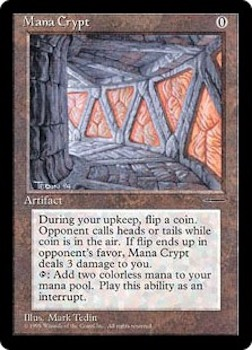 Sell Magic the Gathering cards: Mana Crypt. Click for values