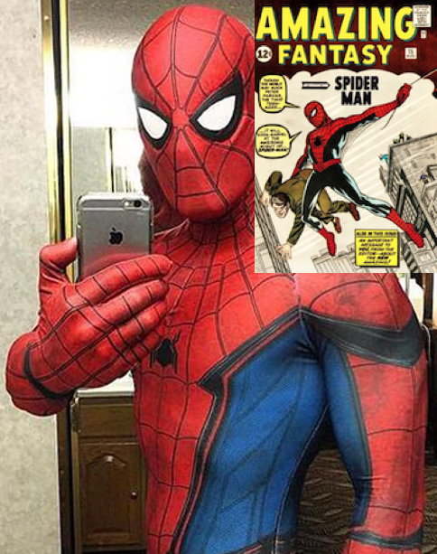Selfie Saturday #1: Meet Spider-Man and Amazing Fantasy #15 at DotCom Comics and Collectibles, Saturday June 1, 2019 from 12pm to 3pm. Get there early!