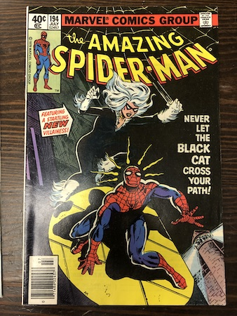 Mystery Bags Series One: Amazing Spider-Man 194, 1st Black Cat!
