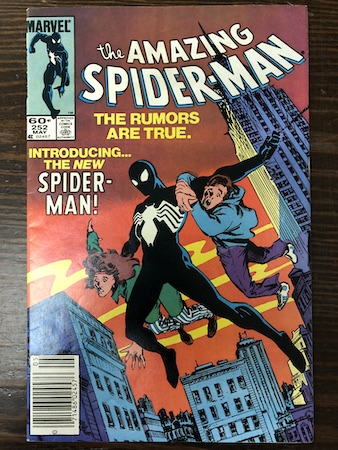 Mystery Bags Series One: Amazing Spider-Man 252, 1st Symbiote!