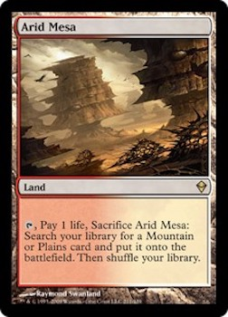 Sell Magic the Gathering cards: Arid Mesa. Click for values