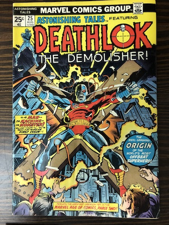 Mystery Bags Series One: Astonishing Tales 25, 1st Deathlok!