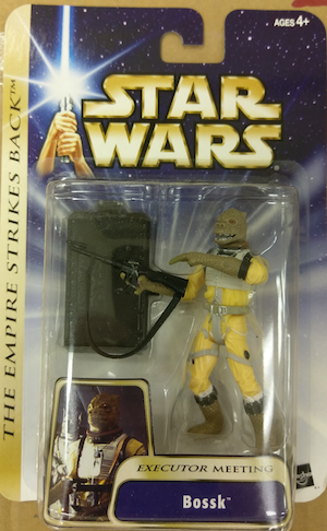 Star Wars the Empire Strikes Back Bossk action figure
