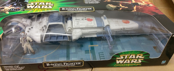 Hasbro Power of the Jedi B-Wing Fighter