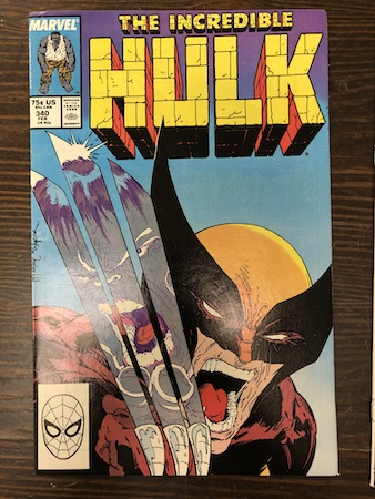 Mystery Bags Series One: Incredible Hulk 340, classic McFarlane Wolverine cover!