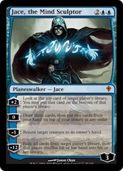 Sell Magic the Gathering cards: Jace the Mind Sculptor. Click for values