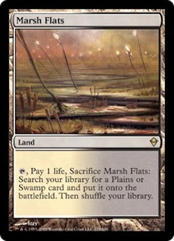 Sell Magic the Gathering cards: Marsh Flats. Click for values