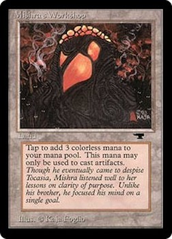 Sell Magic the Gathering cards: Mishra's Workshop. Click for values