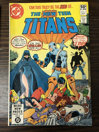 Mystery Bags Series One: New Teen Titans (1980) 2, 1st Deathstroke!