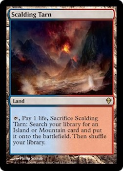 Sell Magic the Gathering cards: Scalding Tarn. Click for values