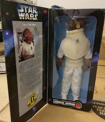 Star Wars Collector Series Admiral Ackbar action figure