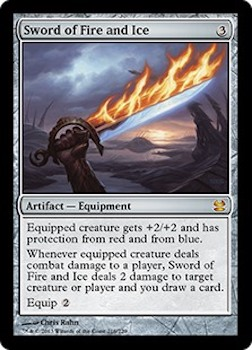 Sell Magic the Gathering cards: Sword of Fire and Ice. Click for values