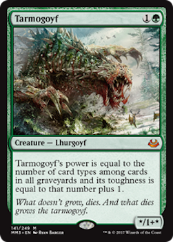 Sell Magic the Gathering cards: Tarmogoyf. Click for values