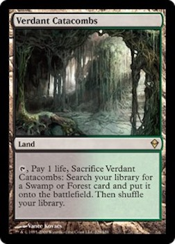 Sell Magic the Gathering cards: Verdant Catacombs. Click for values