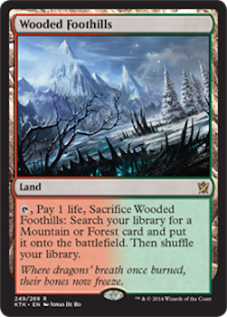 Sell Magic the Gathering cards: Wooded Foothills. Click for values