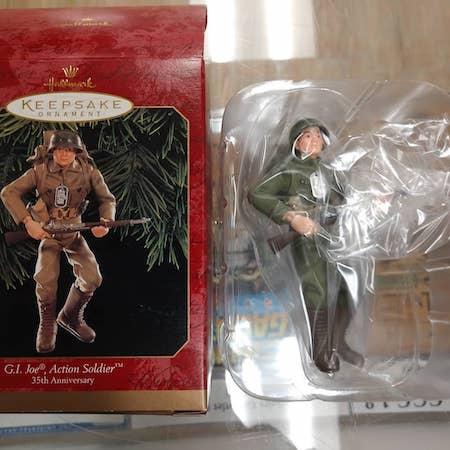 Hallmark GI Joe Christmas ornament