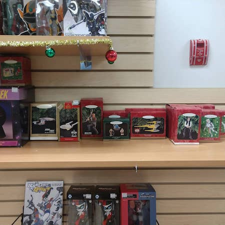 A Full Selection of Christmas Gift Ideas at DotCom Comics and Collectibles, 136 Main Street, Freeport, ME 04032