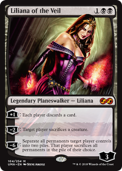 Sell Magic the Gathering cards: Lilliana of the Veil. Click for values