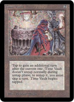 Magic the Gathering Card Values #7: Time Vault. Click to see live prices