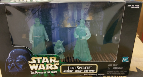 Hasbro Star Wars action Figures Jedi Spirits set